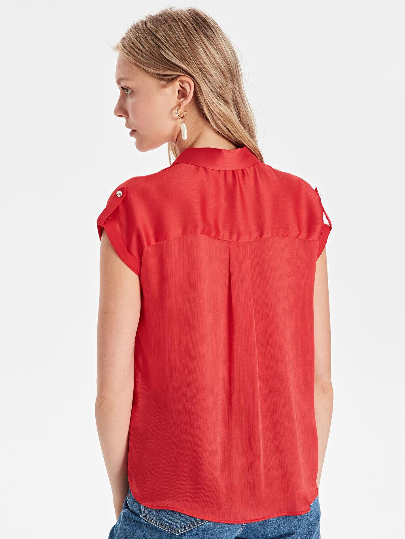 Kadın Aplikeli Gömlek