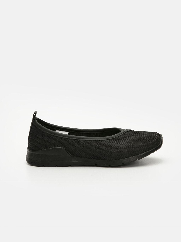 Siyah Kadın Aktif Spor Babet Ayakkabı 9SU619Z8 LC Waikiki