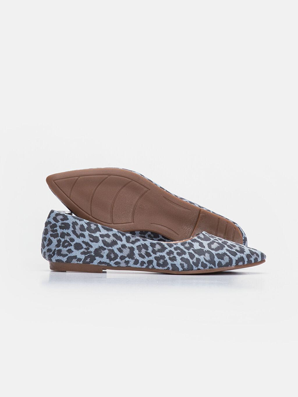 Kadın Kadın Leopar Desenli Babet Ayakkabı