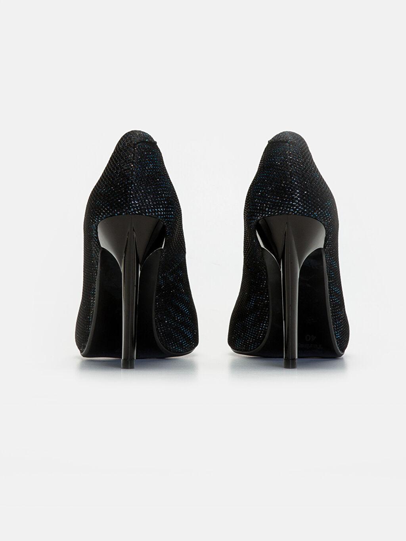 Kadın Simli Stiletto Ayakkabı
