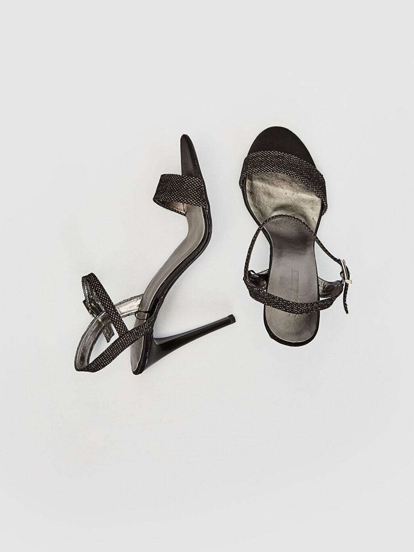 Diğer malzeme (poliüretan) Diğer malzeme (poliüretan) Diğer Topuklu Ayakkabı Bilek Boy 10 cm Diğer Kadın Sivri Topuklu Ayakkabı