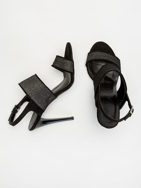 Diğer malzeme (poliüretan) Diğer malzeme (poliüretan)  Kadın Sivri Topuklu Ayakkabı