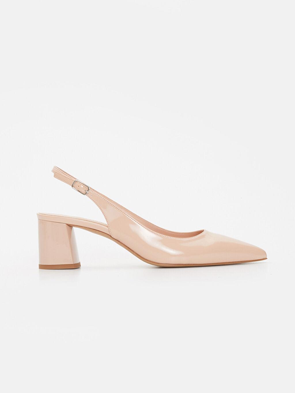 Pembe Kadın Sivri Burun Topuklu Ayakkabı 9SA510Z8 LC Waikiki