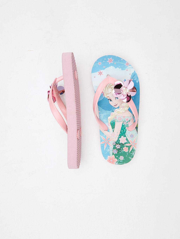 %0 Diğer malzeme (pvc) Plaj Terliği Frozen EVA Astar Kısa Kısa(0-2cm) Diğer Kız Çocuk Frozen Baskılı Parmak Arası Terlik