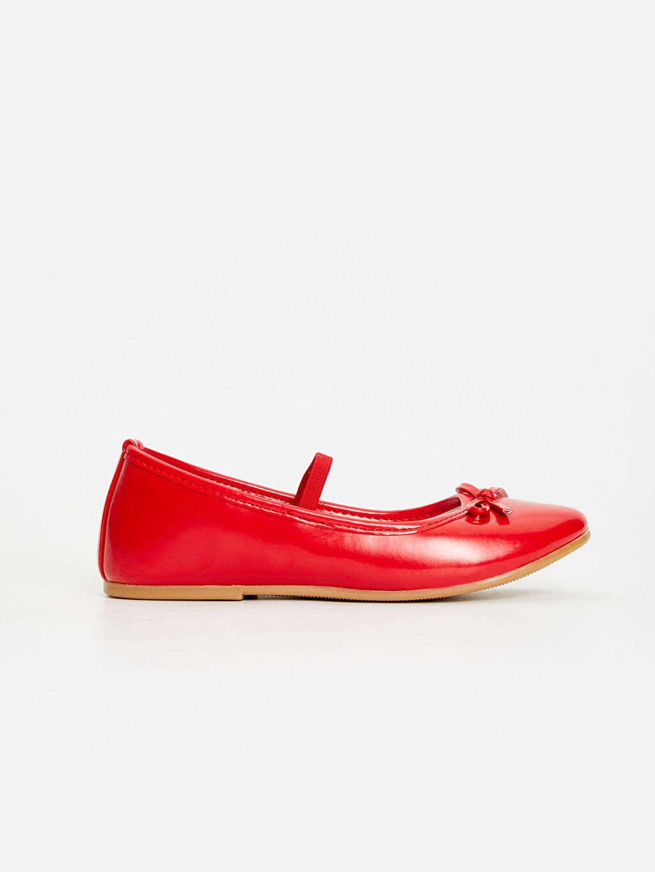 Kırmızı Kız Çocuk Babet Ayakkabı 9S0279Z4 LC Waikiki