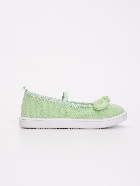 Yeşil Kız Çocuk Babet Ayakkabı 9S0283Z4 LC Waikiki