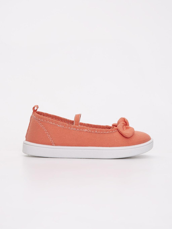 Turuncu Kız Çocuk Babet Ayakkabı 9S0283Z4 LC Waikiki