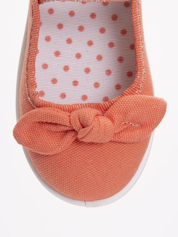 LC Waikiki Turuncu Kız Çocuk Babet Ayakkabı
