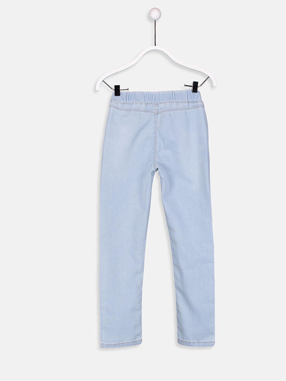 %75 Pamuk %23 Polyester %2 Elastan Normal Bel Dar Super Skinny Jean Pantolon