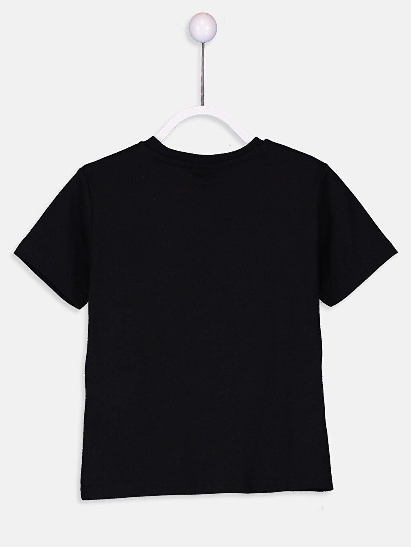 %100 Pamuk Süprem Baskılı Tişört Bisiklet Yaka Standart Erkek Çocuk Atatürk Baskılı Pamuklu Tişört