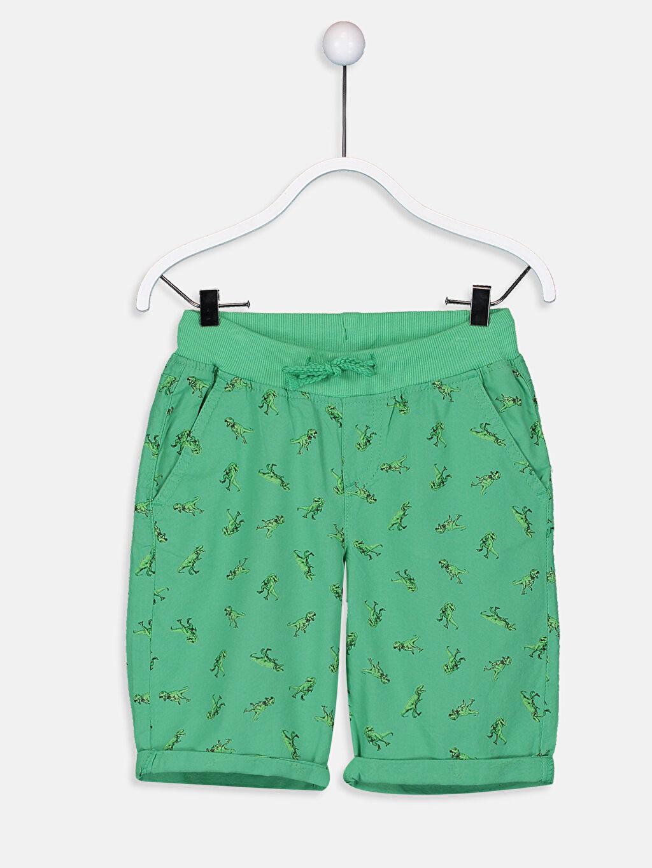 Yeşil Erkek Çocuk Gabardin Chino Roller 9S3299Z4 LC Waikiki