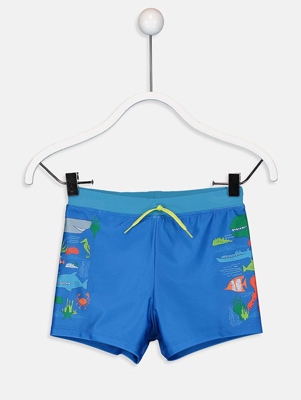 Mavi Erkek Çocuk Boxer Mayo 9S5491Z4 LC Waikiki