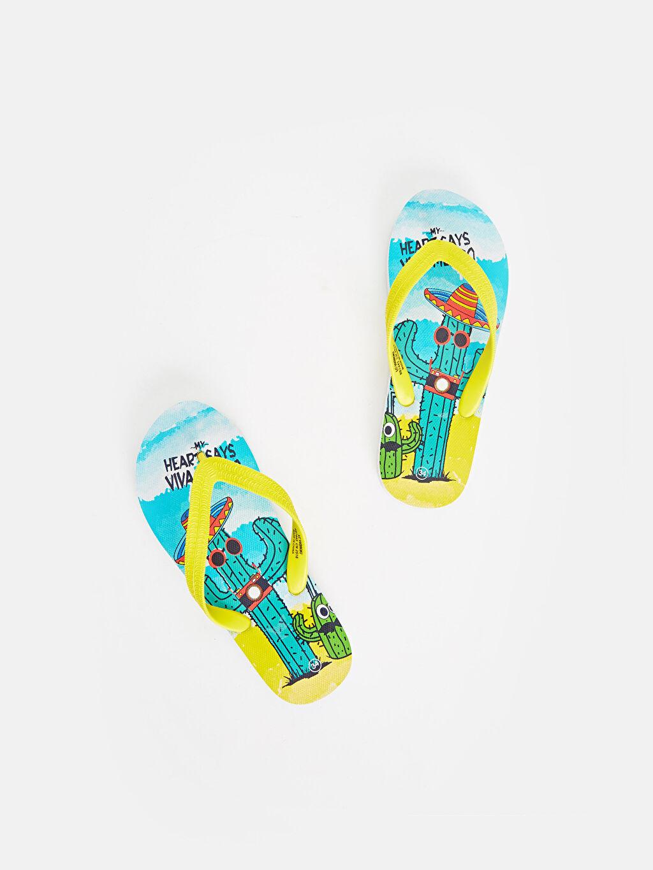 Sarı Erkek Çocuk Parmak Arası Terlik 9S7443Z4 LC Waikiki
