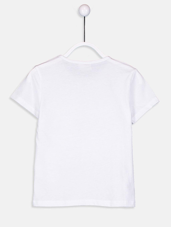 Kız Çocuk Aile Koleksiyonu Kız Çocuk Çift Yönlü Payetli Pamuklu Tişört