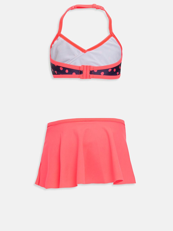 %81 Poliamid %19 Elastan %100 Polyester  Kız Çocuk Etekli Bikini