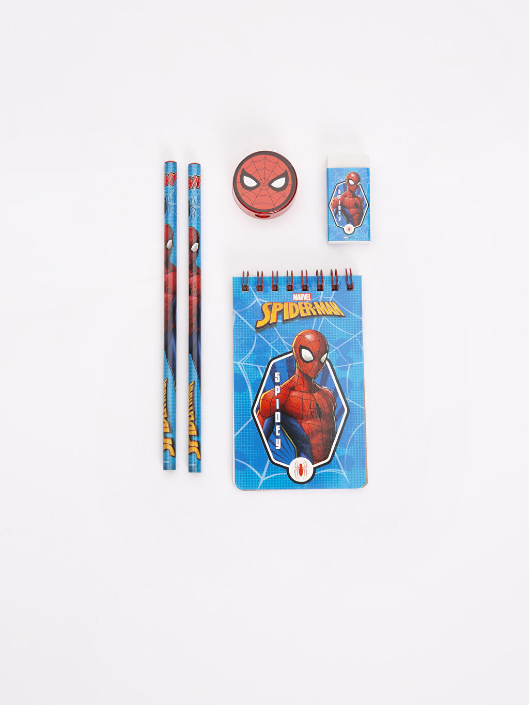 %100 Diğer Kırtasiye Seti Superman Erkek Çocuk Spiderman Kırtasiye Seti