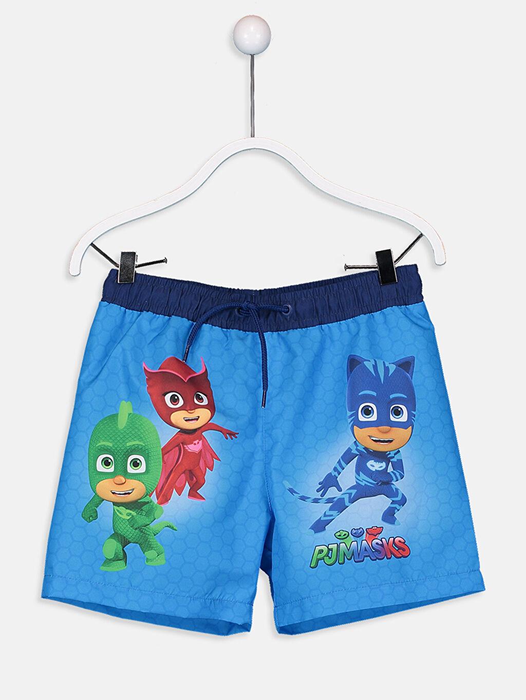 %100 Polyester Erkek Çocuk Pijamaskeliler Yüzme Takım