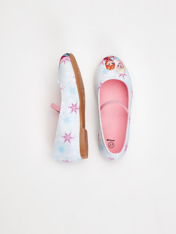 %0 Tekstil malzemeleri (%100 poliester) Babet Frozen Kısa(0-2cm) Diğer Kısa Tekstil Malzeme Kız Çocuk Frozen Babet Ayakkabı