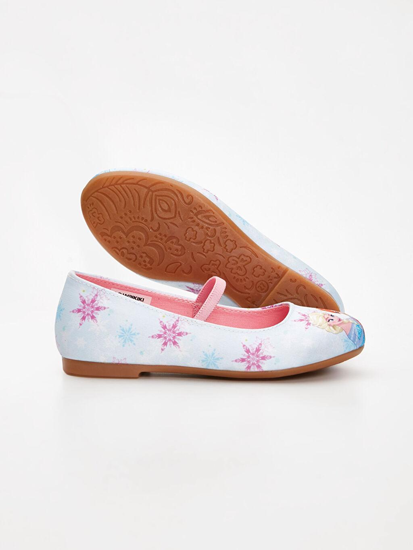 Kız Çocuk Kız Çocuk Frozen Babet Ayakkabı