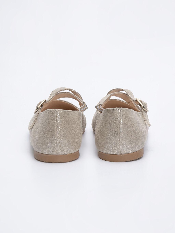 Kız Çocuk Çapraz Bantlı Babet Ayakkabı
