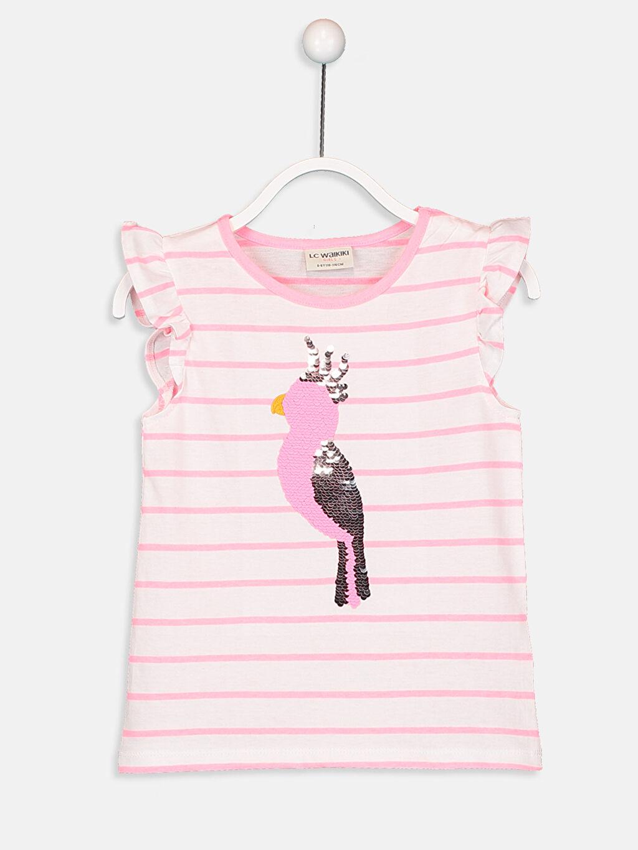 Kız Çocuk Pamuklu Tişört ve Şort