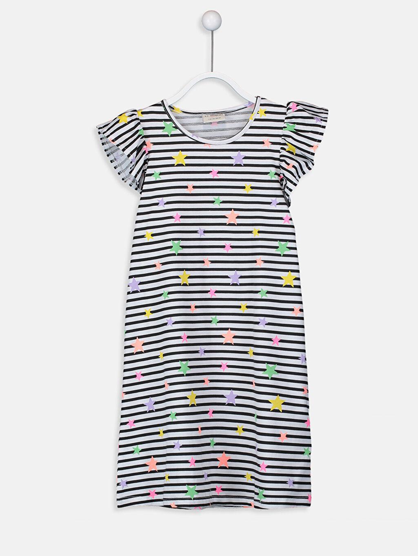 Kız Çocuk Kız Çocuk Örme Elbise 2'li