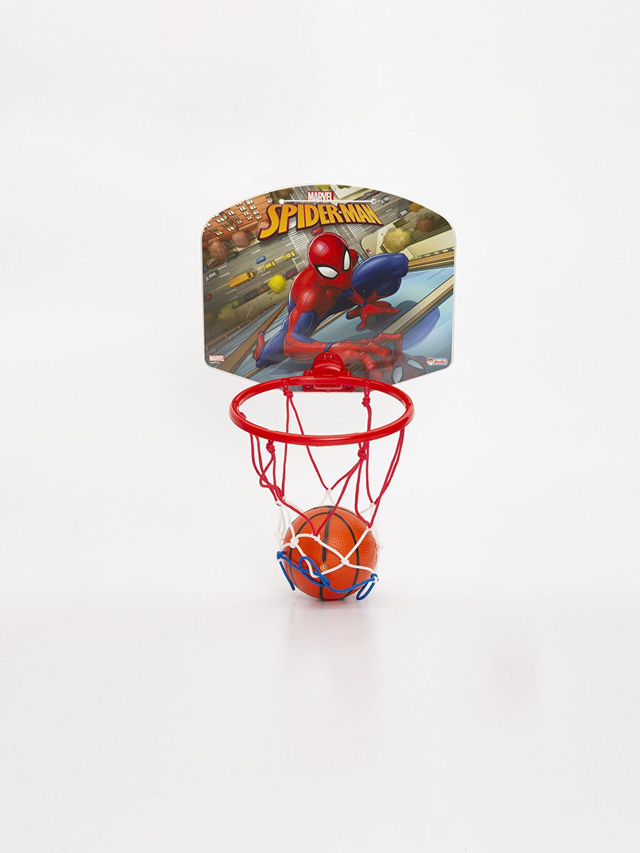 Çok Renkli Erkek Çocuk Spiderman Oyuncak Pota Takımı           9SN873Z4 LC Waikiki
