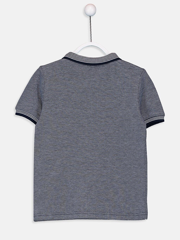 %100 Pamuk Pike Polo Yaka Kısa Kol Düz Standart Tişört Erkek Çocuk Pamuklu Polo Yaka Tişört