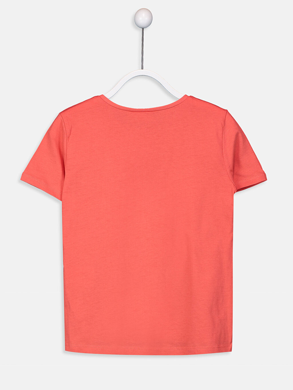 %100 Pamuk Kısa Kol Düz Süprem Standart Tişört Bisiklet Yaka Kız Çocuk Pamuklu Basic Tişört