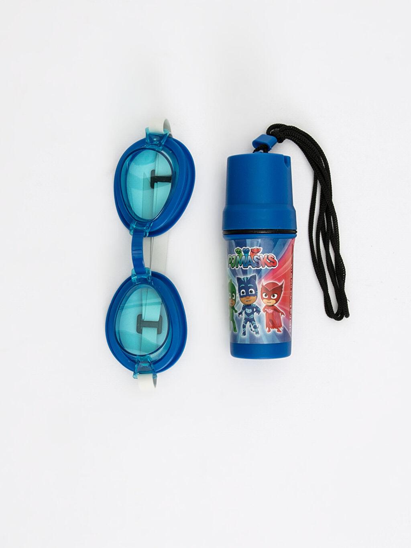 Plastik Pijamaskeliler Deniz Gözlüğü Erkek Çocuk Deniz Gözlüğü
