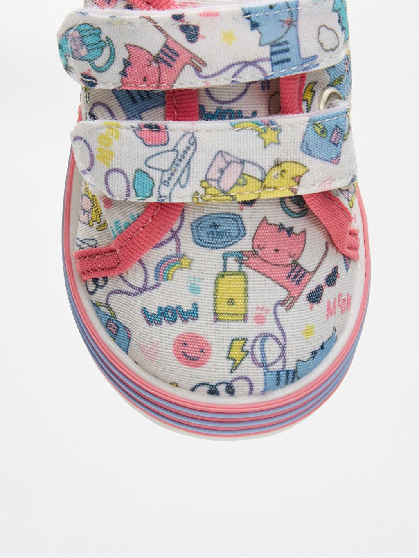 9S2664Z1 Kız Bebek Baskılı Spor Ayakkabı