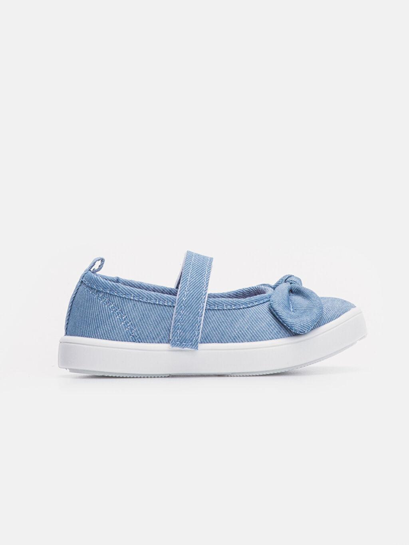 İndigo Kız Bebek Fiyonklu Babet Ayakkabı 9S7070Z1 LC Waikiki