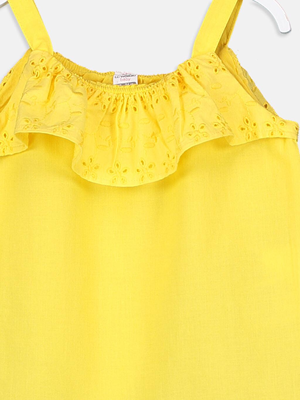 Kız Bebek Kız Bebek Poplin Bluz