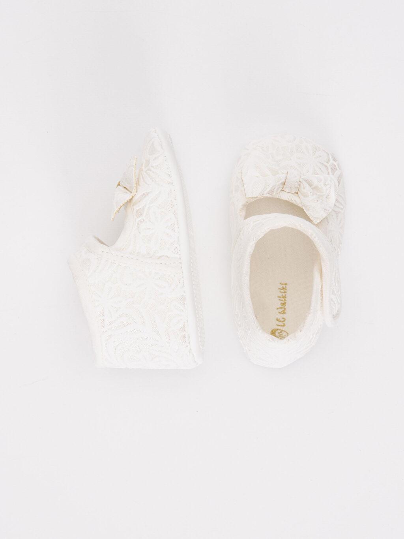%0 Tekstil malzemeleri (%100 poliester) Yürümeyen Kısa(0-2cm) Kısa Tekstil Malzeme Kız Bebek Ayakkabı
