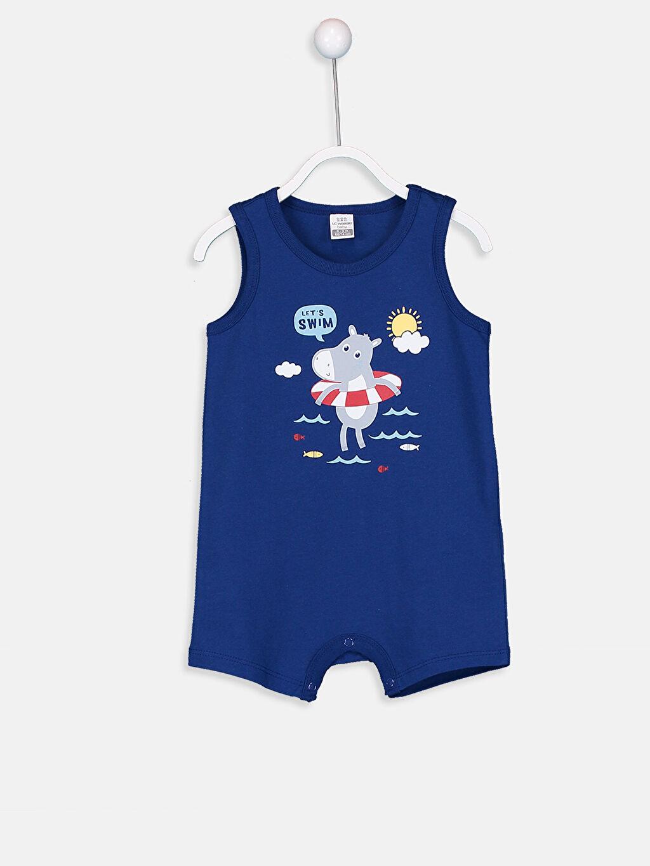 Erkek Bebek Erkek Bebek Pamuklu Tulum 2'li