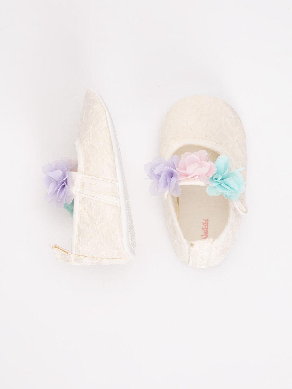 Kız Bebek Kız Bebek Cırt Cırtlı Ayakkabı
