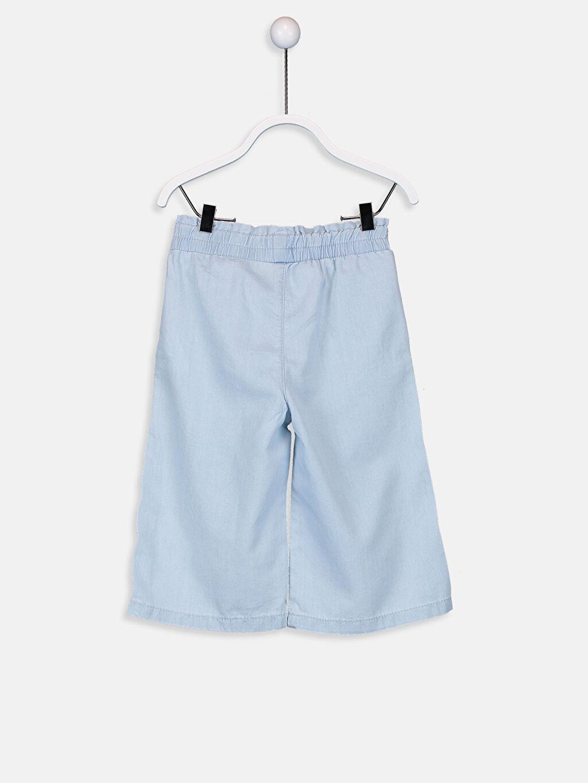 %67 Pamuk %33 Lyocell Normal Bel Astarsız Jean Düz Standart Standart Kız Bebek Jean Pantolon