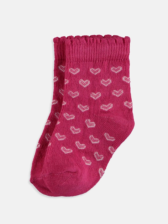 Kız Bebek Kız Bebek Soket Çorap 4'lü