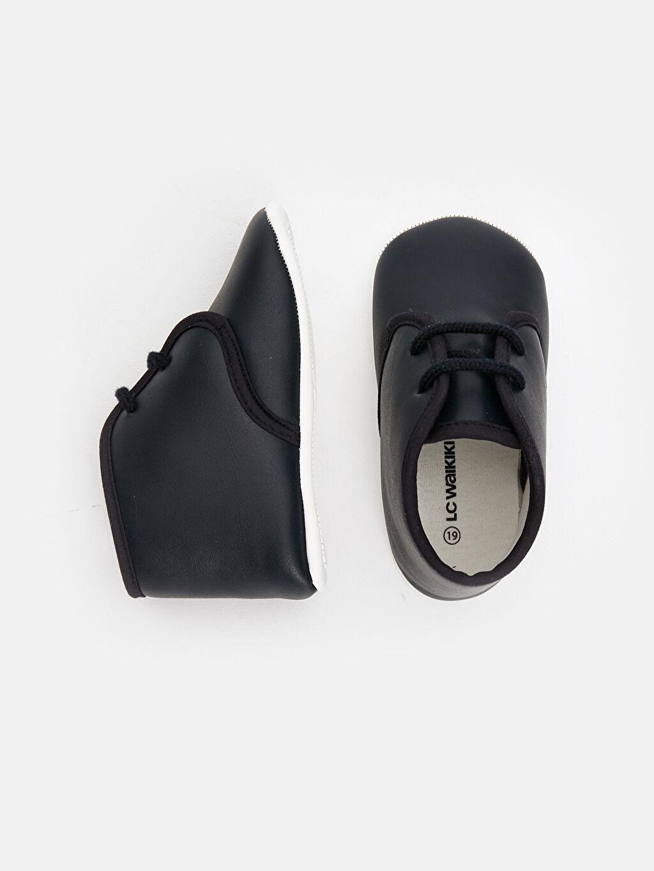 Diğer malzeme (poliüretan) Tekstil malzemeleri  Erkek Bebek Bağcıklı Ayakkabı