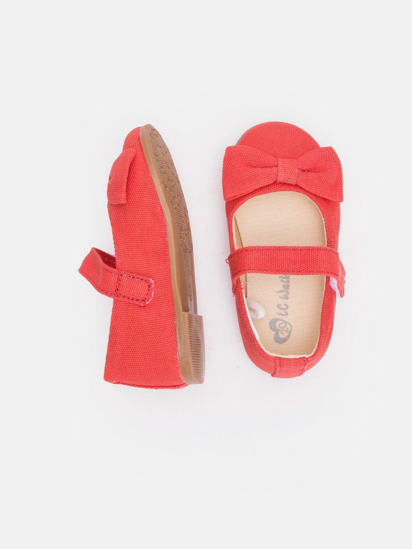 %0 Tekstil malzemeleri (%100 poliester) Kumaş Astar Babet Kısa(0-2cm) Cırt Cırt Kısa Kız Bebek Babet Ayakkabı