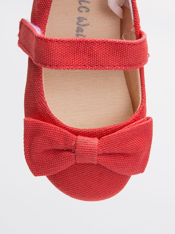 LC Waikiki Turuncu Kız Bebek Babet Ayakkabı