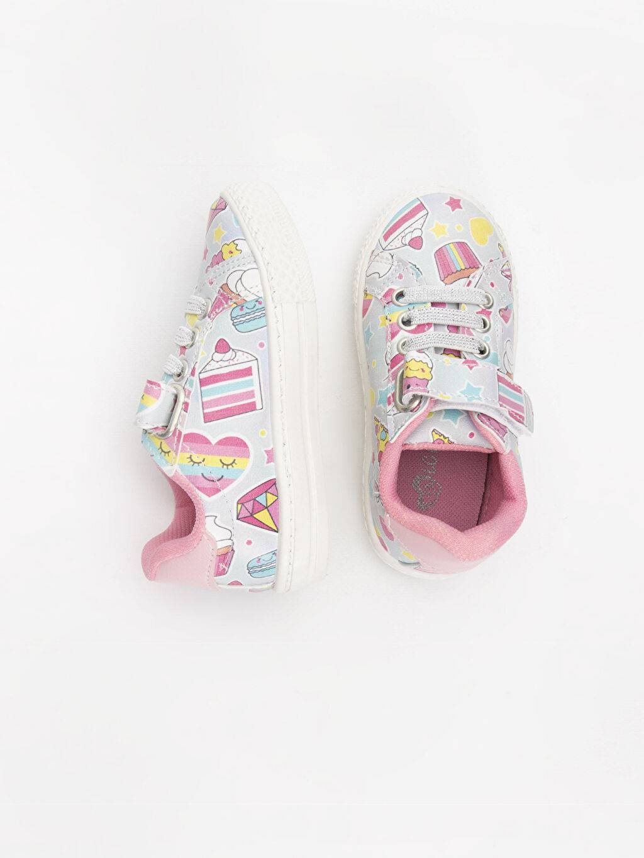 %0 Diğer malzeme (poliüretan) Kumaş Astar Sneaker Kısa(0-2cm) Kısa Bağcık ve Cırt Cırt Kız Bebek Cırt Cırtlı Sneaker Ayakkabı