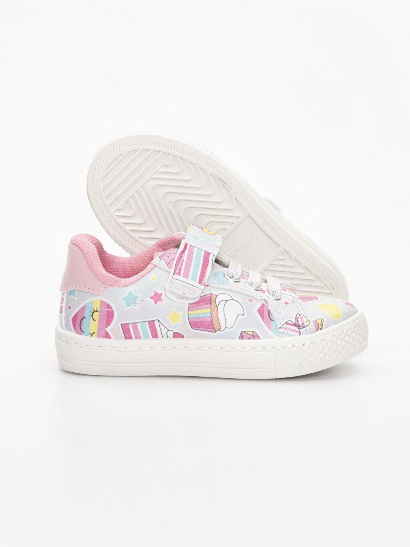 Kız Bebek Kız Bebek Cırt Cırtlı Sneaker Ayakkabı