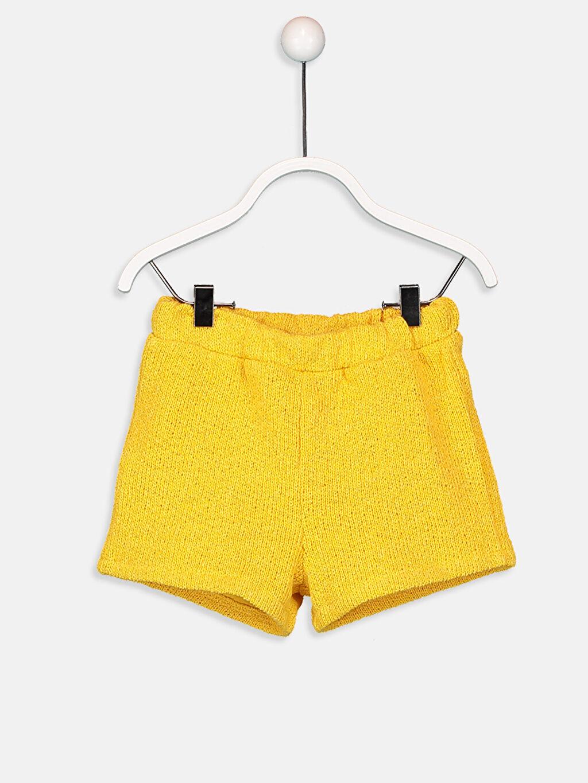 Sarı Kız Bebek Atlet ve Şort