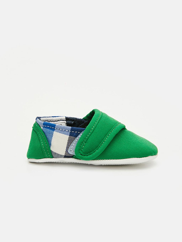 Yeşil Erkek Bebek Cırt Cırtlı Ayakkabı 9ST928Z1 LC Waikiki