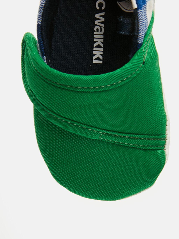 LC Waikiki Yeşil Erkek Bebek Cırt Cırtlı Ayakkabı