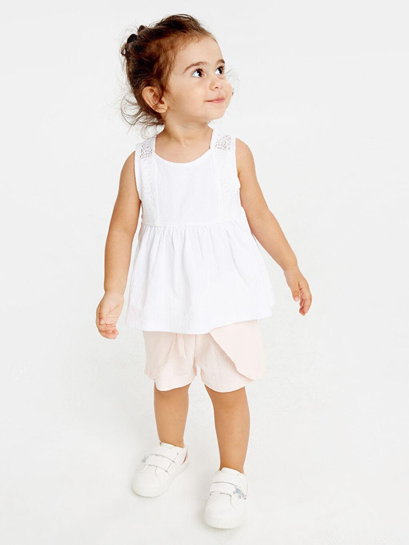 Kız Bebek Kız Bebek Pamuklu Atlet