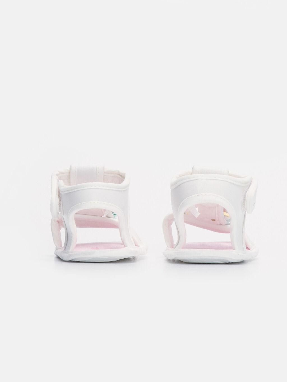 9SA392Z1 Kız Bebek Cırt Cırtlı Sandalet