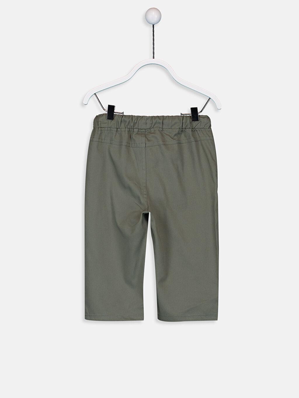 %100 Pamuk Pantolon Düz Gabardin Aksesuarsız Standart Astarsız Erkek Bebek İnce Gabardin Pantolon