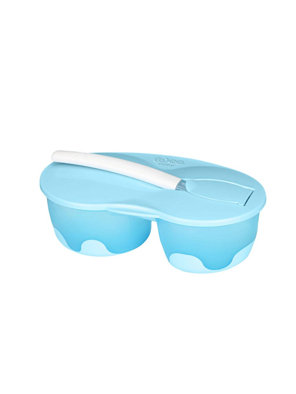 Mavi Wee baby 2 Hazneli Mama Kabı Seti 9SA808Z1 LC Waikiki